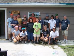 Our teens after drywalling an entire house in Texas - LEGENDARY STORIES!!!